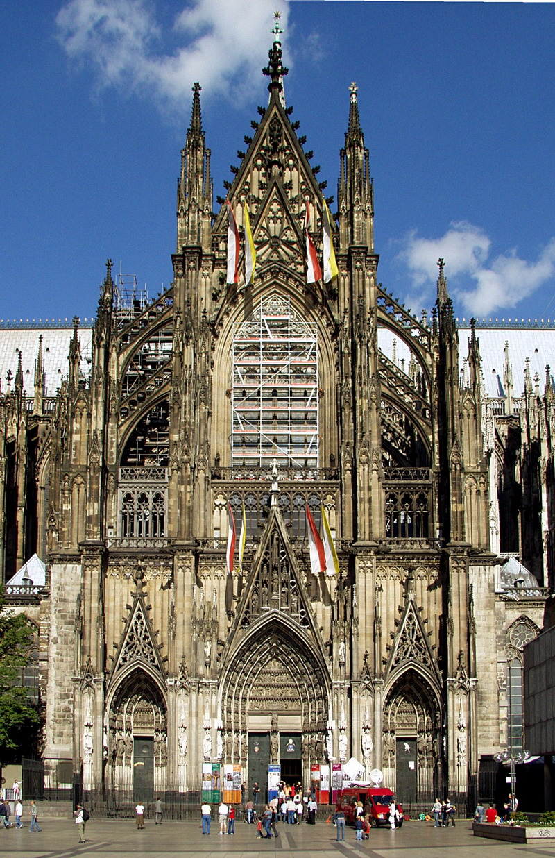 德国_德国科隆大教堂2_基督教图片※耶稣爱你图片站※